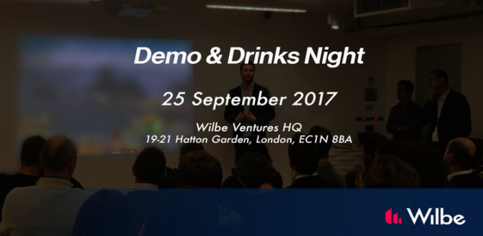 Wilbe demo & drinks night poster