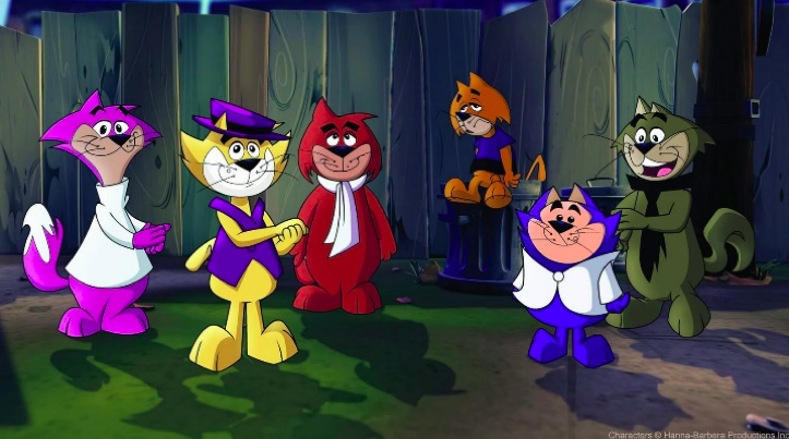 Image of top cat and friends