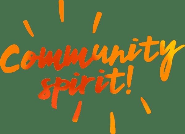 Community Spirit!