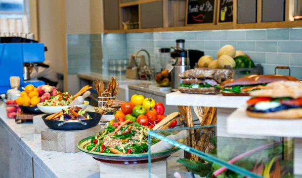 Small mediterranean buffet